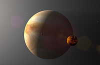 Hot Jupiter 1 - 51 Pegasi