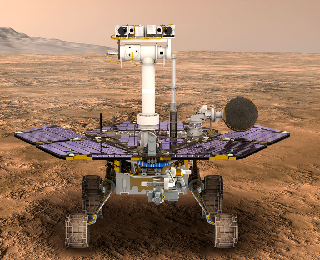 Bisbos.com :: Space: Future Probes: Mars Exploration Rover