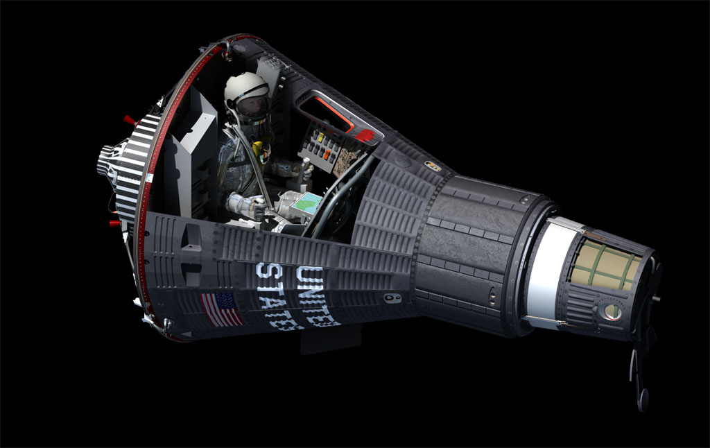 Mercury Spacecraft That Went To Page 2 Pics About Space